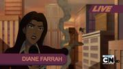 Diane Farrah informando xD