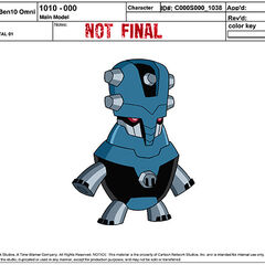 Główny model przypadkowego robota 01
