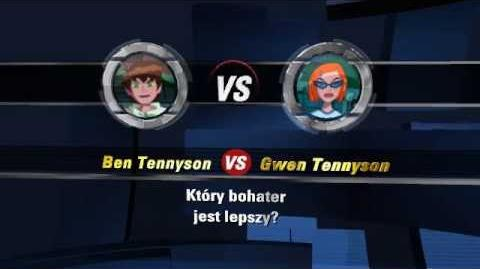 Bitwa 1 Ben Tennyson vs Gwen Tennyson