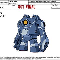 Główny model przypadkowego robota 04