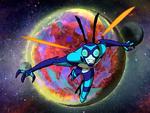 Insectoide 01 tabber alienigena da semana