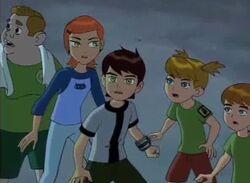 Gilbert, Gwen, Ben, Mandy, and Andy