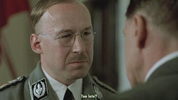 Himmler talking to Hitler