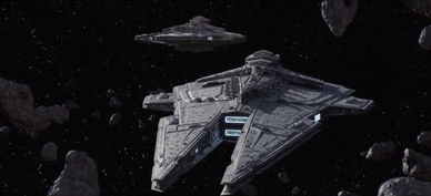Two Plamperial star destroyers