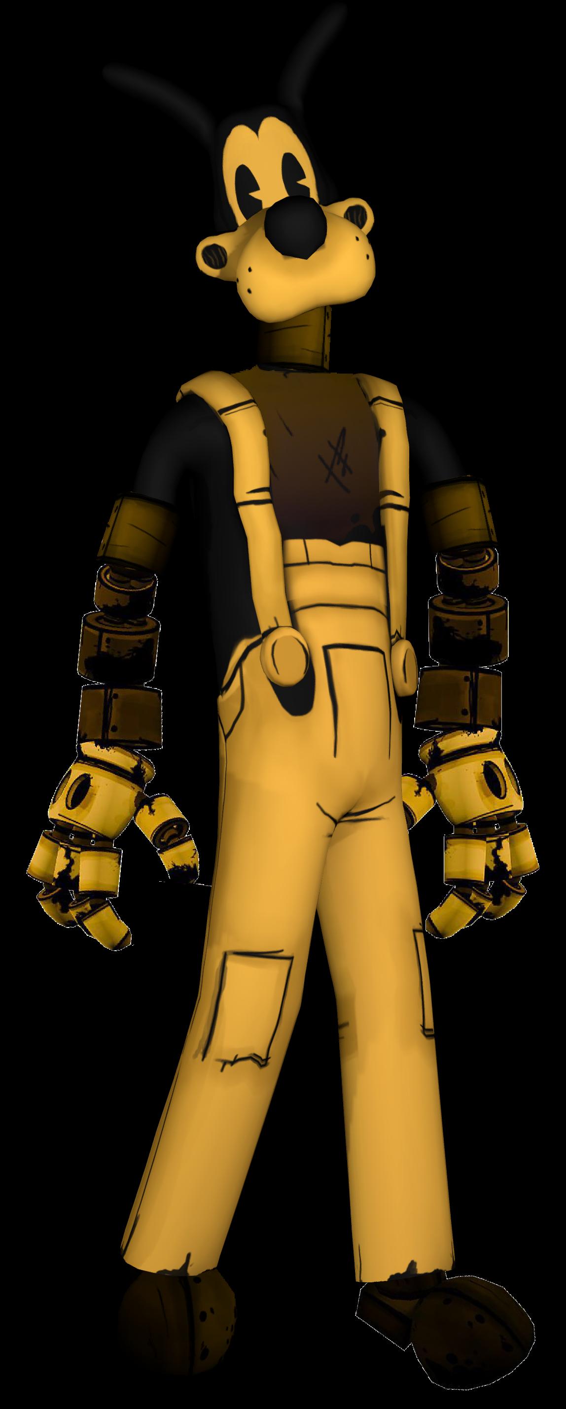 Robo Boris Bendy And The Ink Machine Custom Wiki