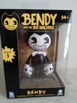 Black and white bendy