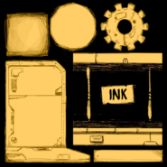 Ink Machine Textures