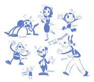 TimetheHobos-doodles