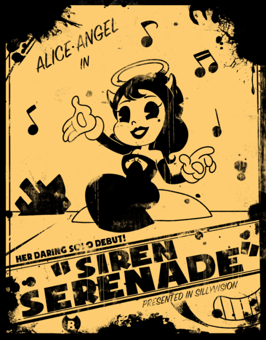 Image Sirenserenade2 Png Bendy And The Ink Machine