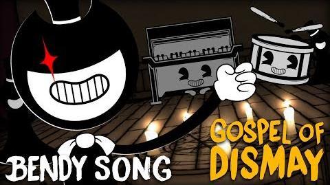 BENDY CHAPTER 2 SONG (GOSPEL OF DISMAY) LYRIC VIDEO - DAGames