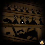 Bendy-doll-shelf