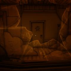 Комната после скримера Алисы