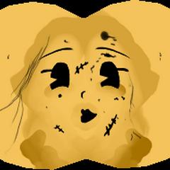 Текстура лица игрушки Алисы