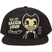 Bendy bacon soup hat