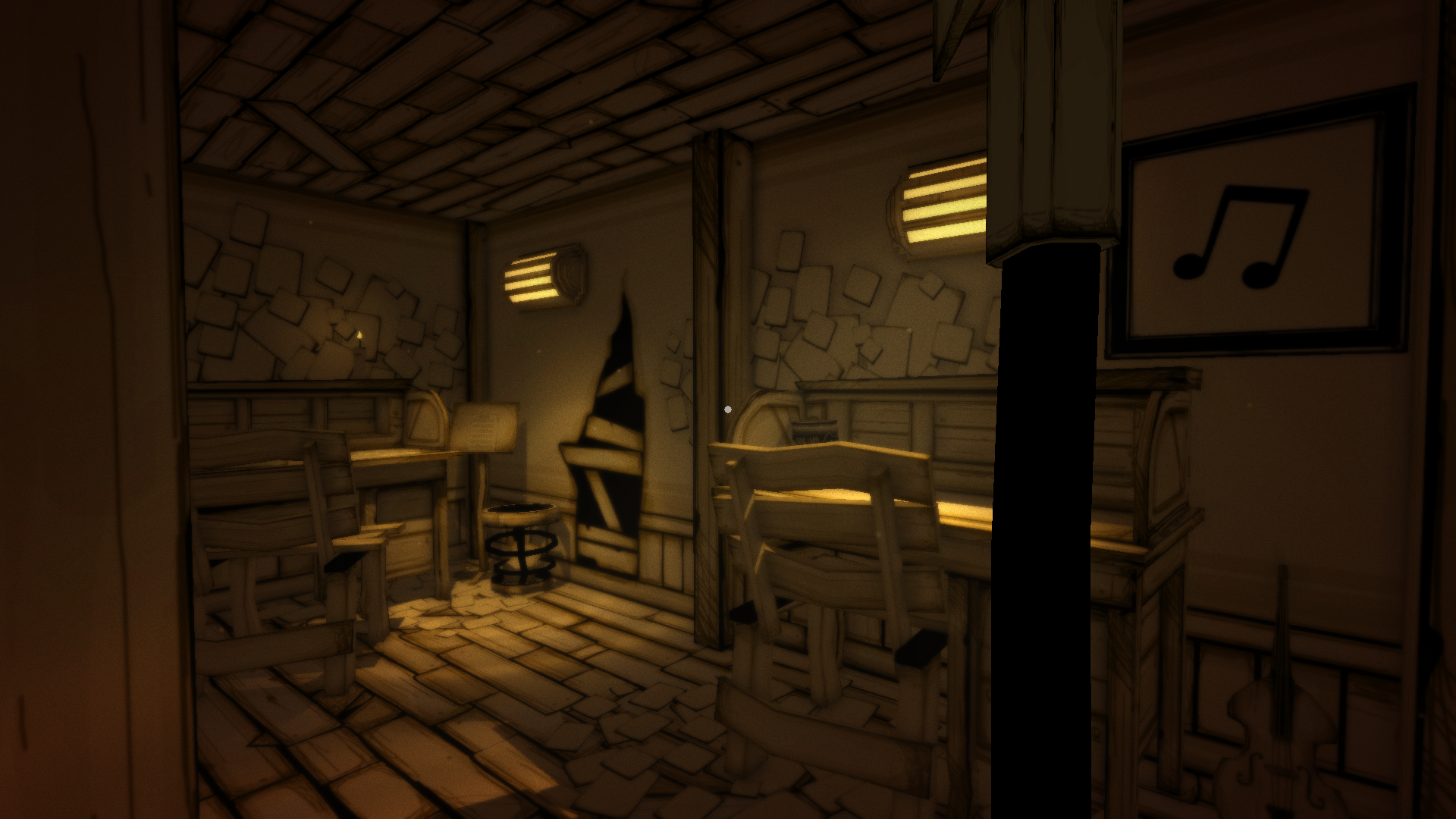 Music Writing Room | Bendy and the Ink Machine Wiki | FANDOM powered ...