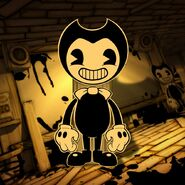 Bendy-standee-cutout