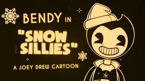 "Bendy in ""Snow Sillies - A Joey Drew Short"