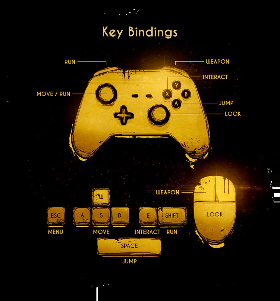 Controls | Bendy Wiki | FANDOM powered by Wikia