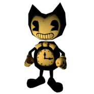 Bendy clock