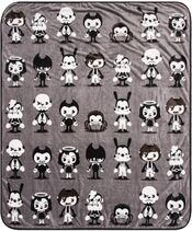 Bendy and pals blanket