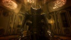 Bendy on Throne