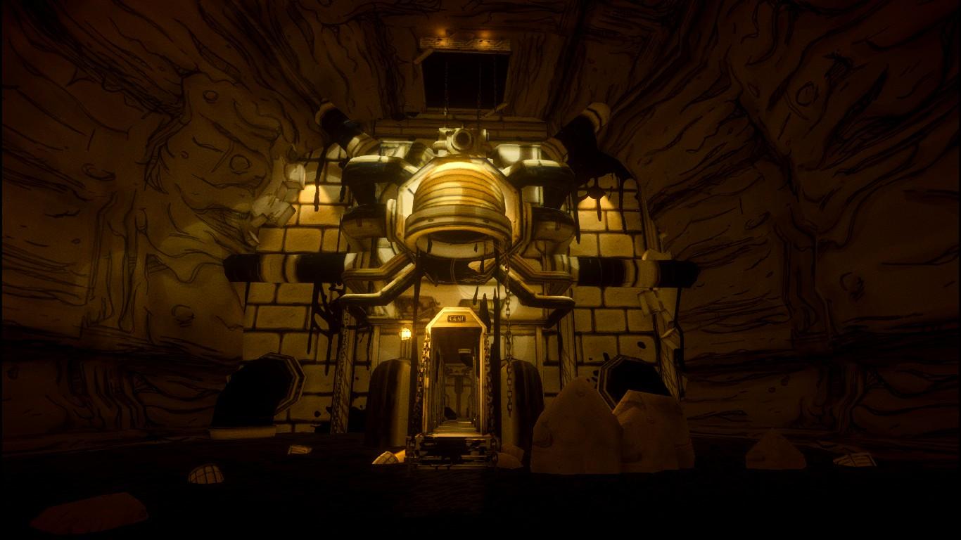 Giant Ink Machine Entrance Bendy Wiki Fandom