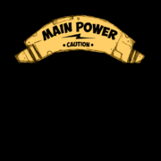Main power sign texture
