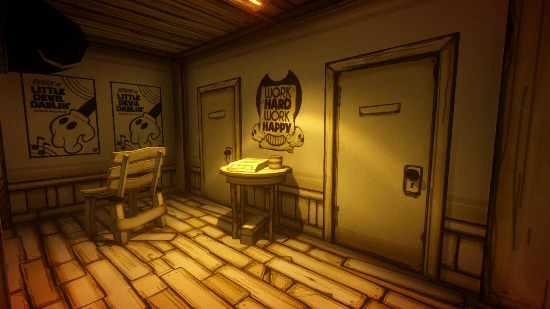 Narrowed Room Bendy And The Ink Machine Wiki Fandom