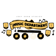 Music department decal
