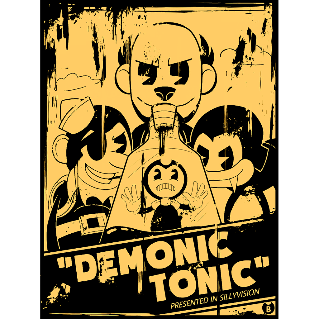 Image - Fan art winner ch3 decal demonictonic.png | Bendy and the ...