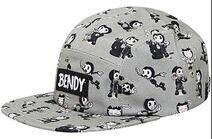 Bendy print hat