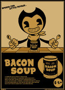 Bendy and the bacon soup publicity by firionbifrost-db7kzgq