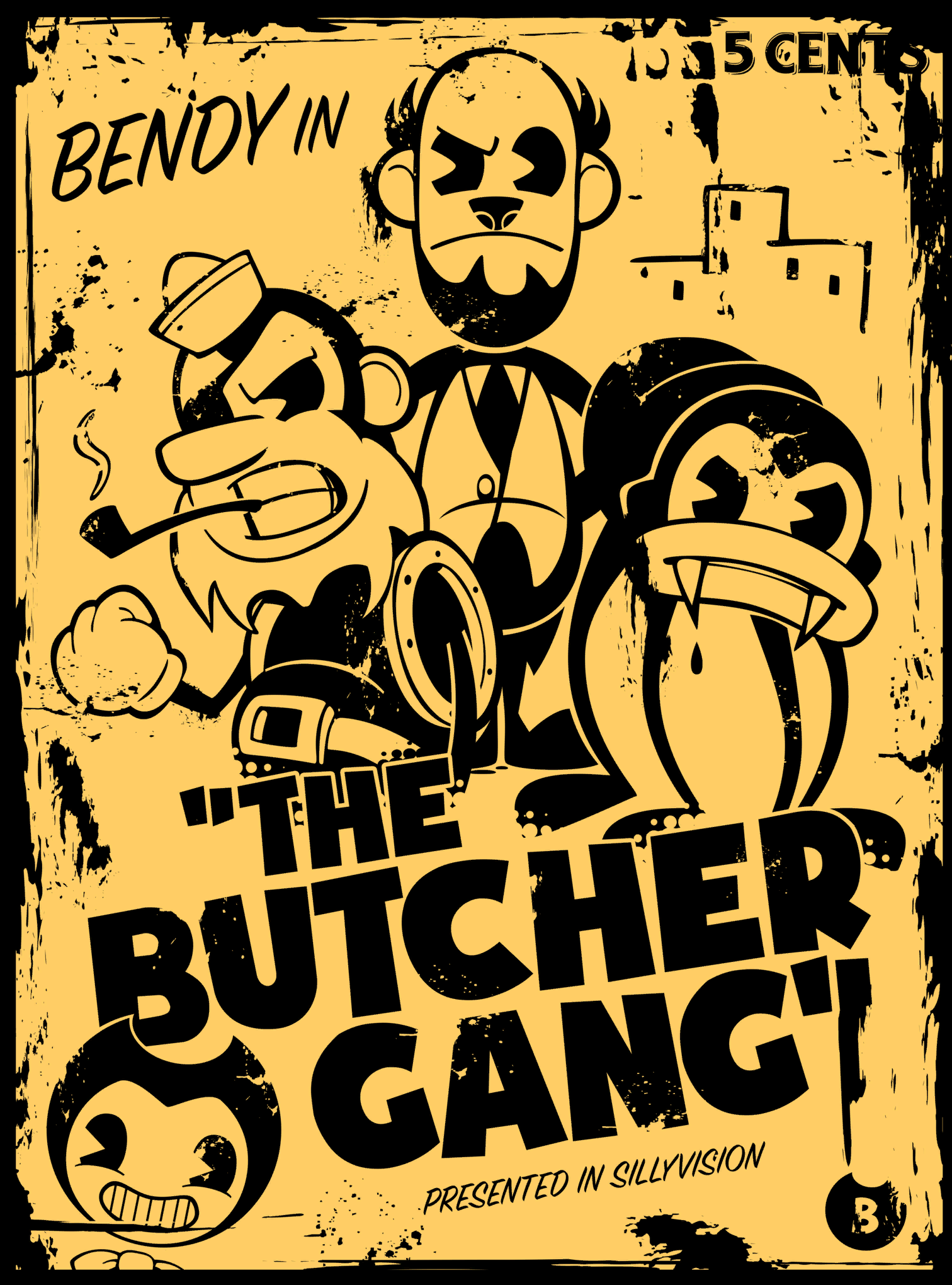 butcher gang bendy and the ink machine wiki fandom powered by wikia