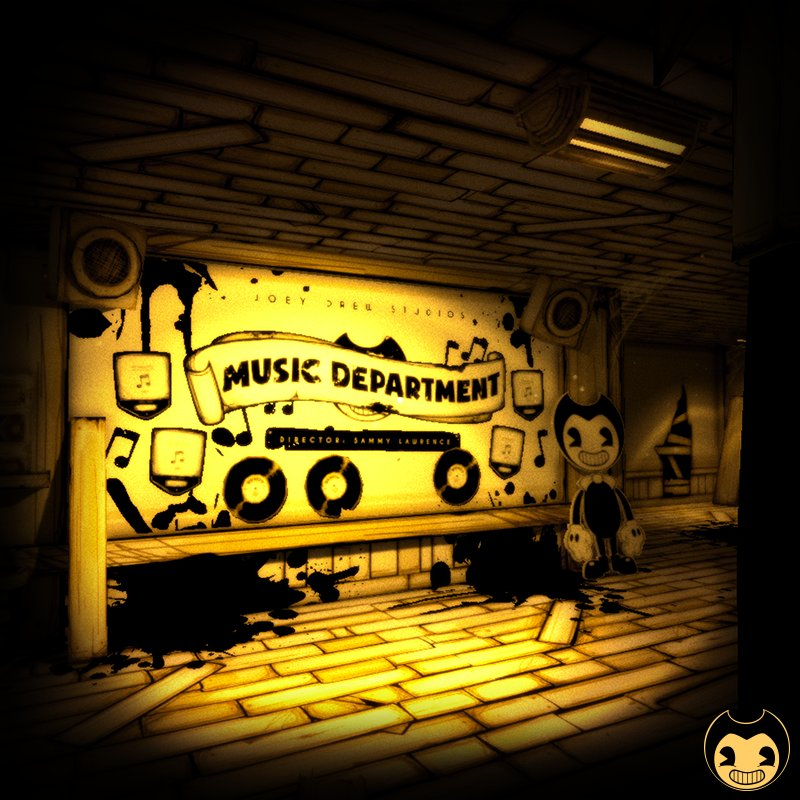 Music Department Hall   Bendy and the Ink Machine Wiki ...