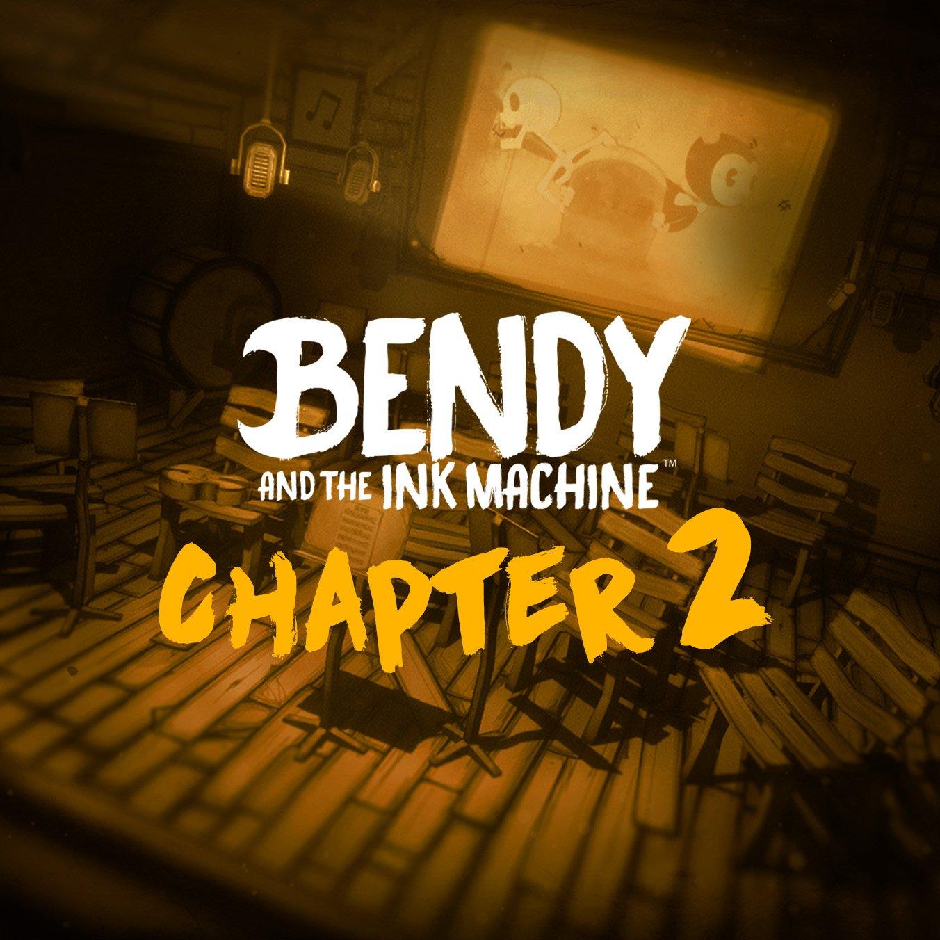 Chapter 2 The Old Song Bendy And The Ink Machine Wiki Fandom