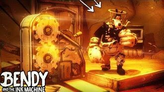 BORIS SHOULDN'T BE HERE!! O-o WHAT? Bendy and the Ink Machine Chapter 4 Hacking