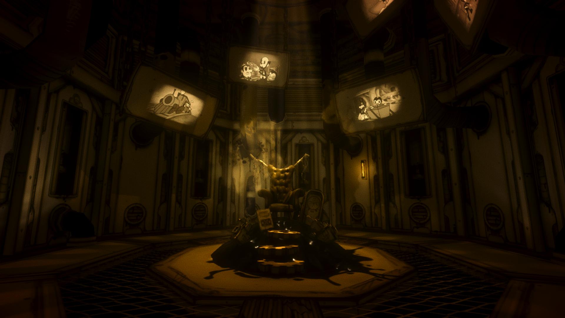 Throne Room Bendy Wiki Fandom