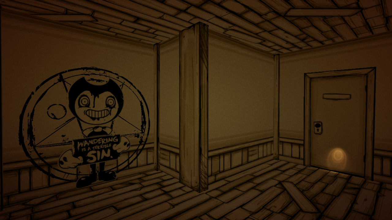 Image - Wandering in The Exit.png | Bendy and the Ink Machine Wiki ...