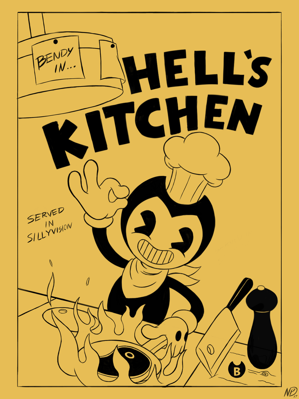 Hell S Kitchen Bendy