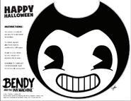 Bendy-Halloween-Mask