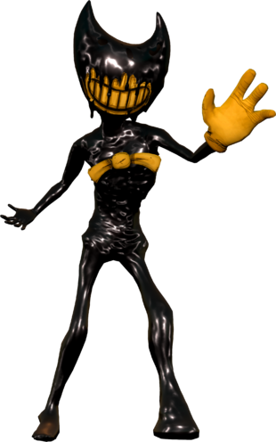 Ink Bendy's appearance in BatIM and BatDS