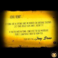 Joeys-Letter