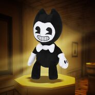 Bendy-plush-toy