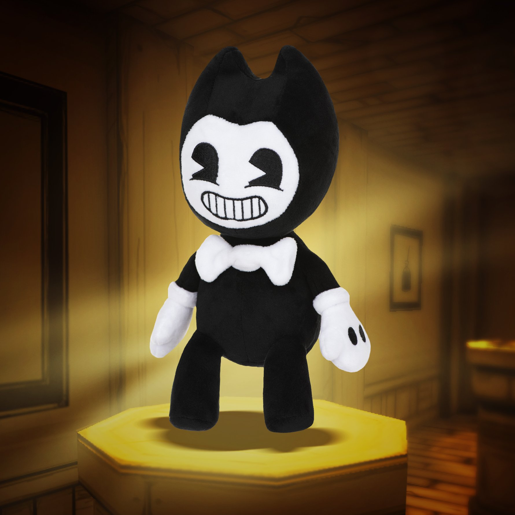 Image - Bendy-plush-toy.jpg | Bendy and the Ink Machine ...