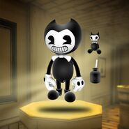 Bendy-figure