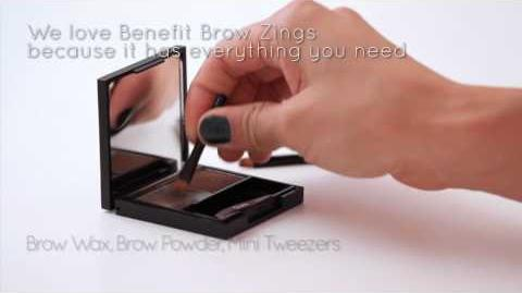 How To Fill in Your Eyebrows with Benefit Brow Zings