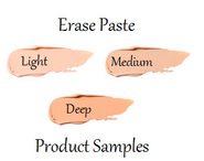 Erase Paste Product Samples