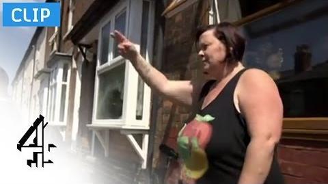 Meet White Dee Benefits Street (S1-Ep1) Channel 4