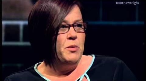 White Dee from Benefits Street 'I haven't made any money from the show - yet' NEWSNIGHT