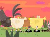 Chickens Ride West